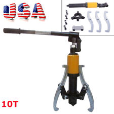 【USA】10 Ton Hydraulic Puller Extractor Gear Bearing Puller Wheel Pulling Machine