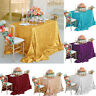 New Sparkly Sequin Tablecloth 130cm Square For Wedding Dessert Table Decor Trend