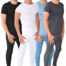Short Sleeve Long Johns Bottoms Only No Underwear for Men