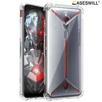 For ZTE nubia Red Magic 5G Slim Clear Flexible Rubber TPU Shockproof Case Cover
