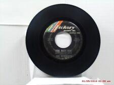 THE NEWBEATS -(45)- RUN, BABY RUN / MEAN WOOLLY WILLIE - HICKORY - 1332  -  1965