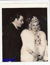 Jack La Rue w/Mae West VINTAGE Photo