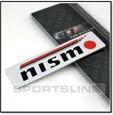Nismo Badge Emblem Motorsports Decal Logo Sticker Car Boot Trunk Tailgate T25