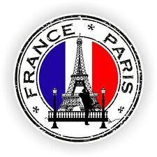 Sello de la etiqueta engomada de Francia París Torre Eiffel sello Parachoques luminosa Camión Coche Portátil
