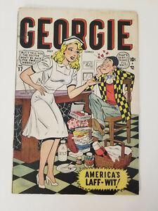 "Nice Copy of Georgie #17 from 1948, Includes Kurtzman's ""Hey Look""!, Margie HTF!"