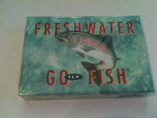 Freshwater Go Fly Fish Card Game Nip sealed