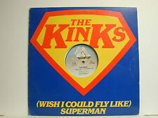 """The Kinks - (Wish I Could Fly Like) Superman, Arista CP 700, 1979 12"""" Single"""
