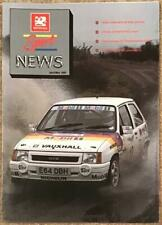 VAUXHALL SPORT NEWS APRIL/MAY 1989 Sport Publicity Magazine