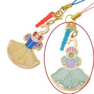 Disney Store Japan Princess Closet Dress DieCut Phone Strap Charm Plug Accessory