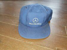 Vintage Mercedes Benz Hat Panel Cap Made In Usa Strapback Snapback 90s 80s