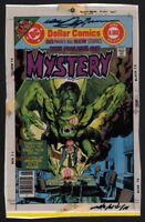 Neal Adams SIGNED House of Mystery 252 Original Color Separation Comic Cover Art