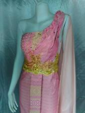 THAI WEDDING DRESS BEAUTIFUL BRIDAL GOWN MADE TO ORDER EMBROIDERY
