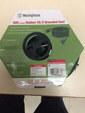 (2) Westinghouse Extention Cords 40ft. W/ground one price for both.