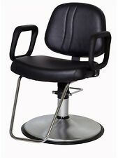 Belvedere Lexus Modern Salon Styling Chair With Brushed Chrome Base