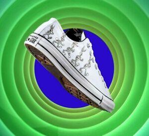 Converse X Bugs Bunny Men's Shoes Size 12 All Star Ox Low 80 years 169226F NEW
