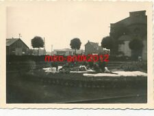 Foto, Werkschutz, Ausb. Werk, Betten reinigen, Mons, Belgien, 1940,  (W)1809