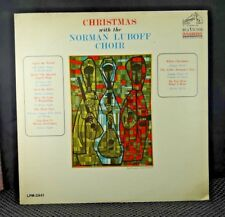 Christmas With The Norman Luboff Choir (RCA Victor – LPM-2941)