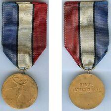 Médaille - Mérite international style de René Lalique
