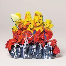 "SELWYN SENATORI - Senatori Town Collection Skulptur ""Bad Boys Club Sign Yellow"""