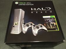 Microsoft Xbox 360 Halo Reach Limited Edition 250 GB Silver Console BRAND NEW