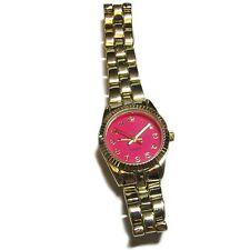 Pink Faced Wristwatch