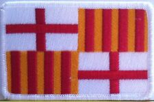 BARCELONA Flag Patch With VELCRO® Brand Fastener Military Emblem