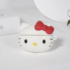 Cute Hello Kitty Earphone Cover for Apple Airpods Pro Charging Case Holder Bag