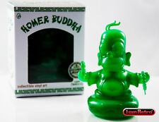 "The Simpsons Jade Homer Buddha 3"" Figure Kidrobot x IamRetro Exclusive Release"