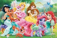 Cialda Ostia ostie per torta festa Le principesse puzzle amici animali disney 3
