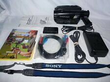 Sony Handycam CCD-TR83 Stereo 8mm Video8 Camcorder VCR Player Video Transfer