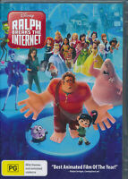 Ralph Breaks The Internet DVD NEW Region 4