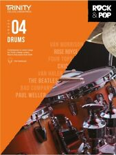 More details for trinity college rock and pop 2018 drums grade 4