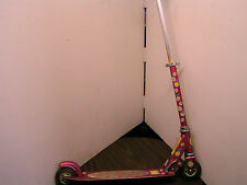 "BARBIE 4"" GIRLS SCOOTER BY DYNACRAFTS - FOLDABLE & ADJUSTABLE"