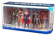 Dc Comics, DC Rebirth Justice League Batman Action figures 7 pack, New & Sealed