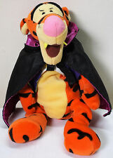 "Halloween Exclusive Tigger Plush Beanie Count Tigger Vampire 9"" (E)"