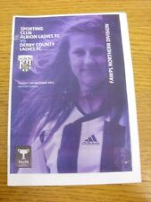 11/12/2011 West Bromwich Albion Sporting Club Ladies v Derby County Ladies [At H