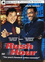 Rush Hour DVD 1999 Platinum Series with Jackie Chan and Chris Tucker