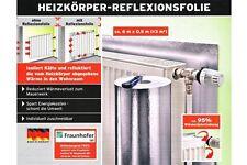 Alu Styropor Heizkörper Reflexionsfolie Reflektor Heizung Folie 6 x 0,5m NEU&OVP