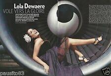 Coupure de presse Clipping 2013 Lola Dewaere  (4 pages)