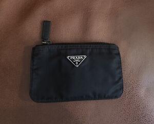 Prada Black Nylon Small Pouch/Purse