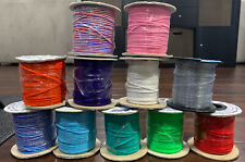 Rexlace Plastic Craft Cord Lamp Shade Lacing Lace Lanyard - Lot of 11