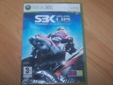 SBK 08 SUPERBIKE WORLD CHAMPIONSHIP VOIR DESCRIPTIF VF  XBOX 360  NEUF CELLO