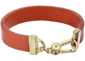 MARC by Marc Jacobs Simple Leather Bracelet, Pink
