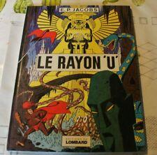 """EO 1974 """"Le rayon U"""" Blake et Mortimer E. P. Jacobs Le Lombard TBE"""