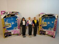3 Vintage Hasbro New Kids on the Block Nkotb Dolls w/ 2 boxes and cassette tapes