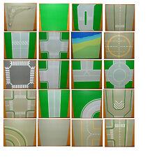 Lego 32x32 32x16 Placa de Construcción Base Space Calle Cruce