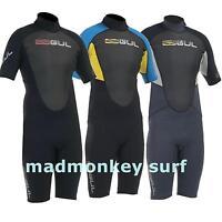 GUL MENS RESPONSE SHORTIE 3/2 MM WETSUIT SHORTY bodyboarding kayaking  diving