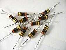 10  Allen Bradley Resistors RCR42G300JS 30 Ohms 2 Watt 5% Tol -New old stock