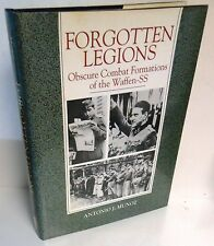 BOOK WW2 Forgotten Legions Obscure Combat Formations of the Waffen SS op 1991