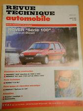 RTA revue technique n° 549 ROVER série 100 essence et diesel